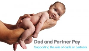 dad and partner pay