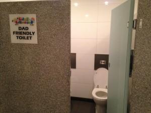 dad friendly toilet